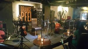 Orange Peelのステージ