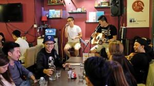 油麻地(ヤウマーテイ)の音楽カフェ