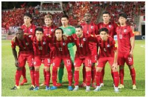 活躍するサッカーチーム