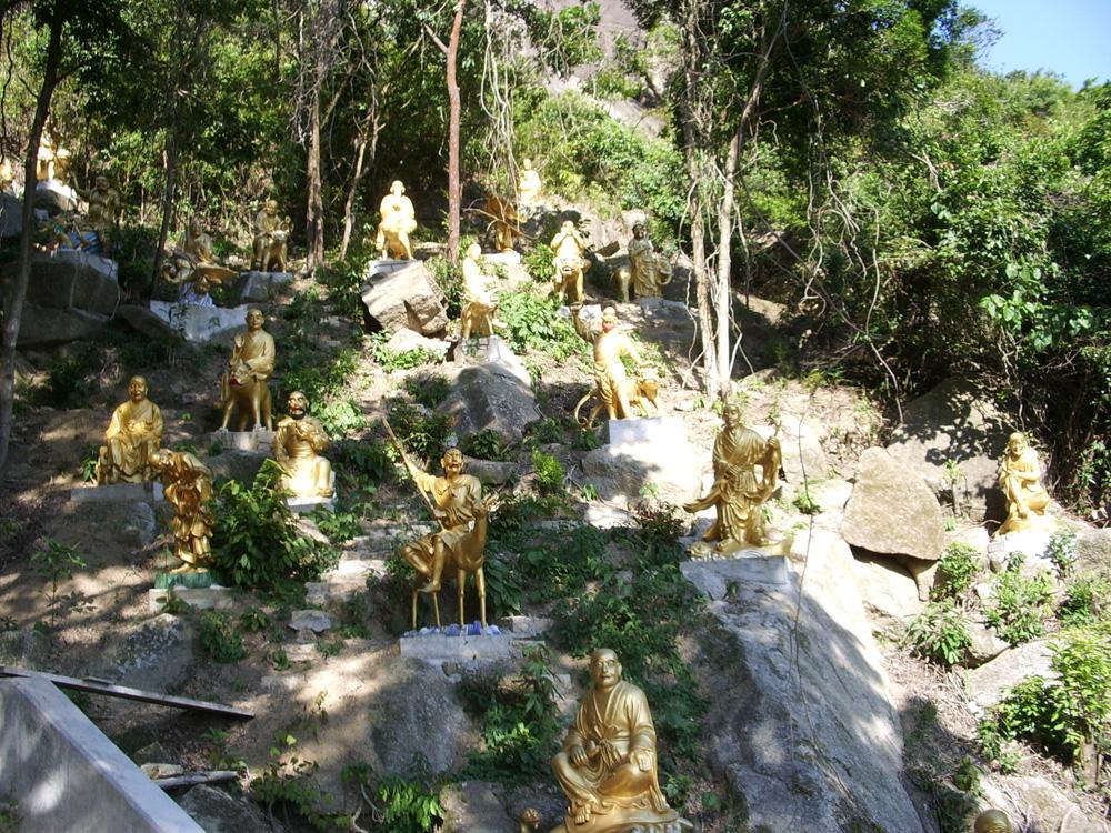 萬佛寺の仏像