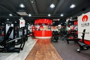 Utime Fitness Studiosの店内の様子