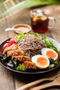 Soba Noodle With Teriyaki Chicken