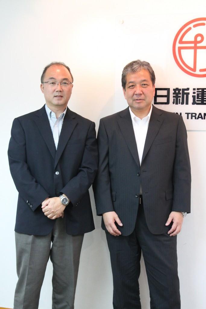 中島 剛さんと安國雄一さん