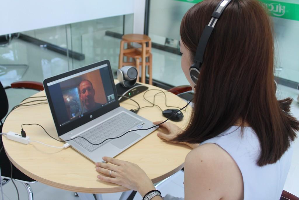 Skypeによる指導