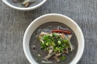 黒ごま坦々スープ