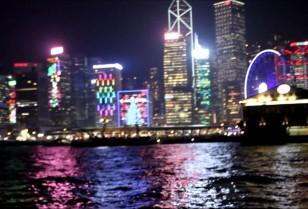 香港動画 香港Xmasイルミネーション