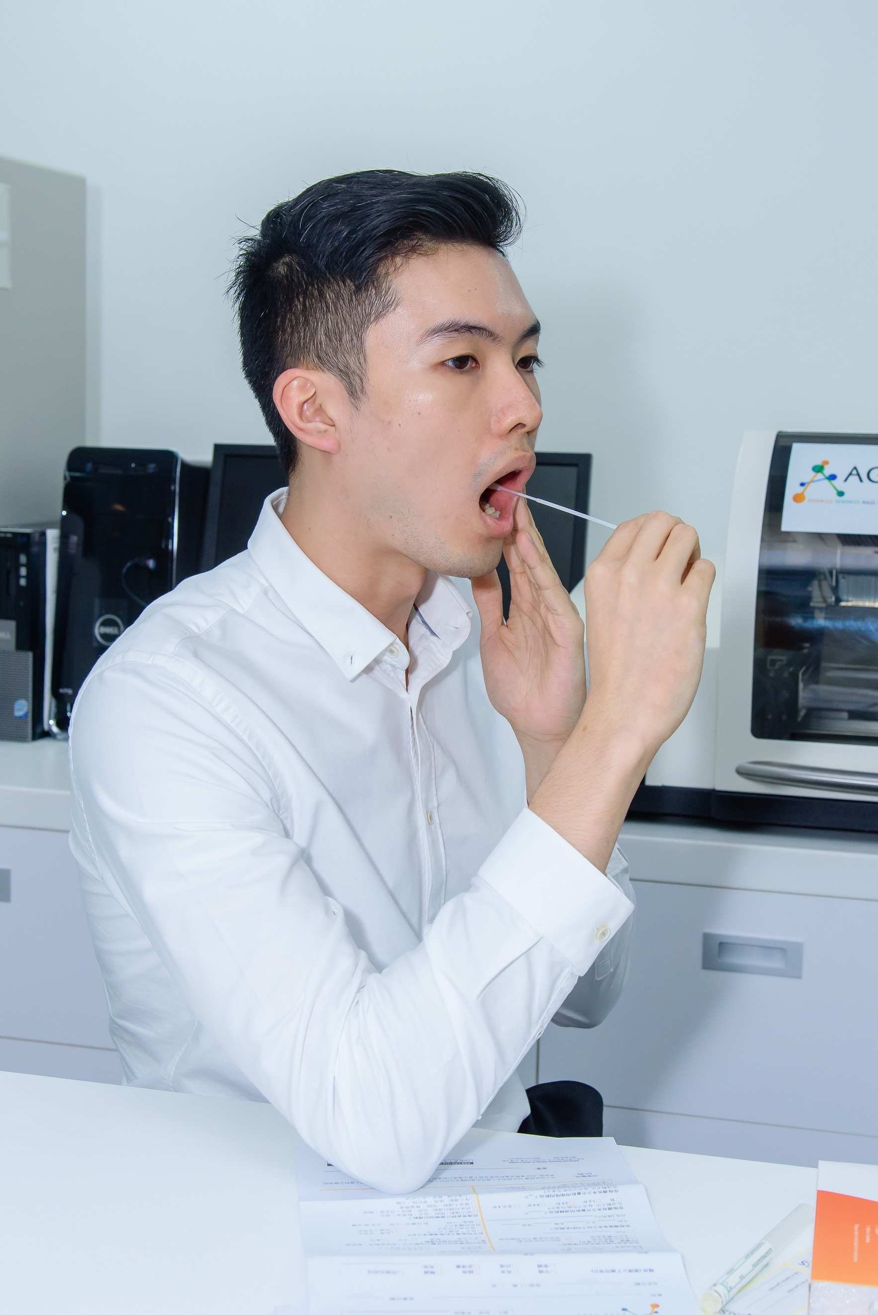 DNA Sample Extraction 採集口腔試沫樣本