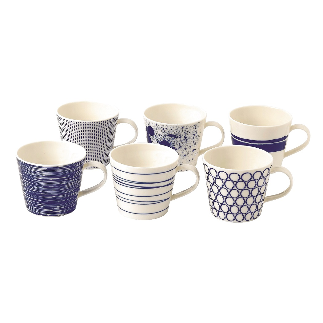 Royal Doulton Pacific_450ml Mugs Set of 6_HK$600
