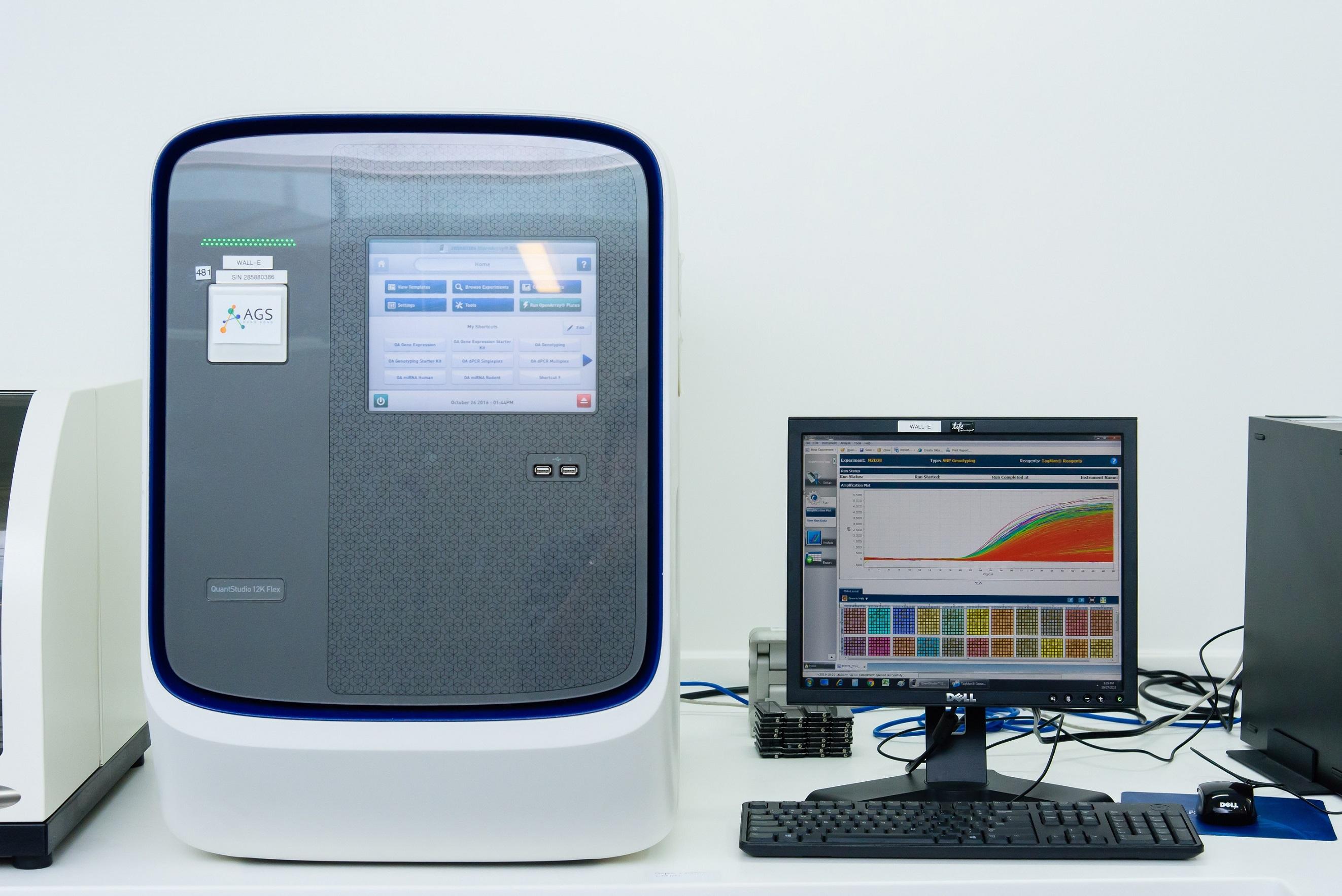 DNA Analyzing Machine DNA分析儀器