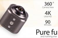 360°アクションカメラ
