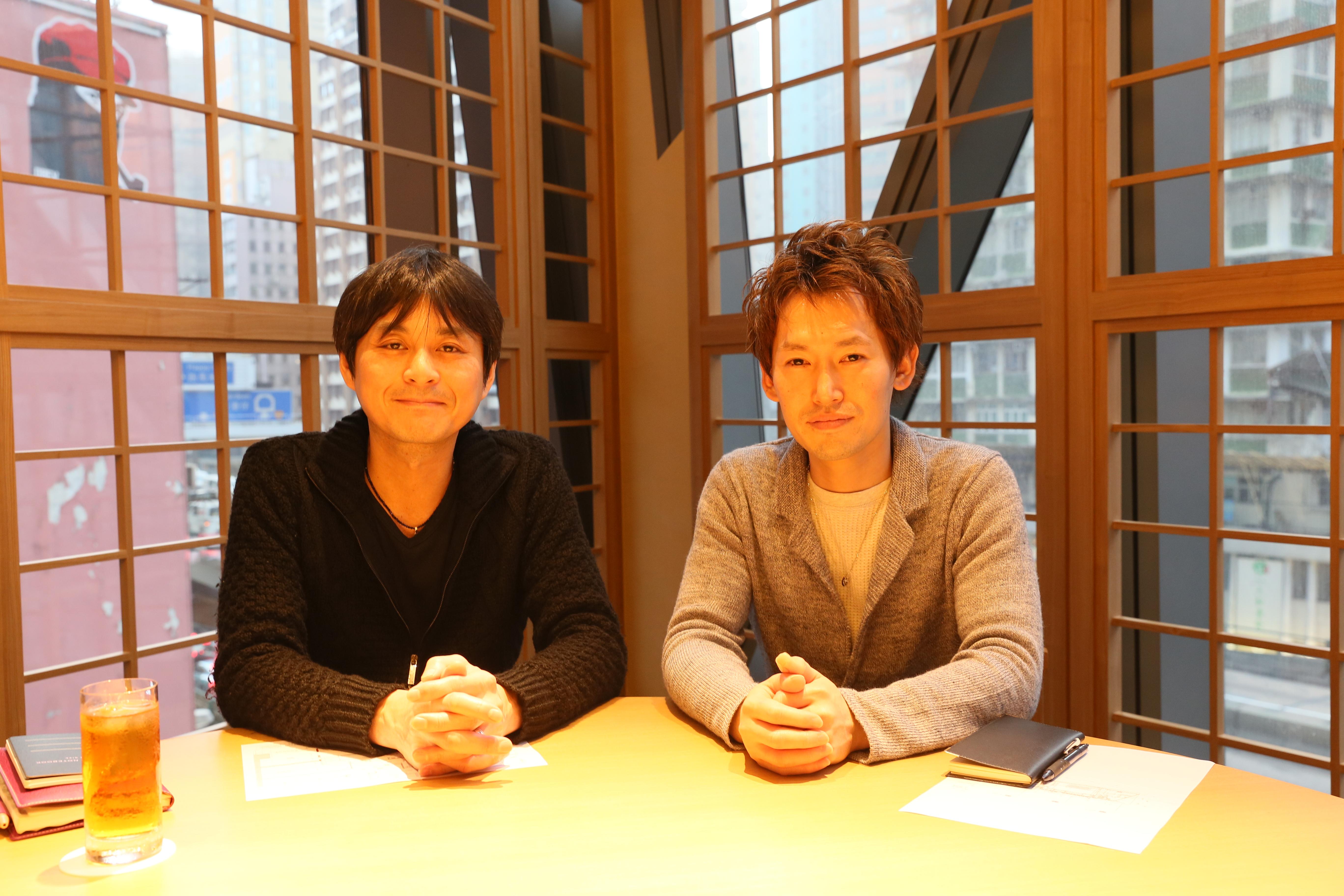 笠原氏(左)と小山氏