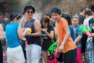 タイのお正月祭