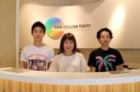 新しいヘアサロン「HAIR COLORS TOKYO」 オープン