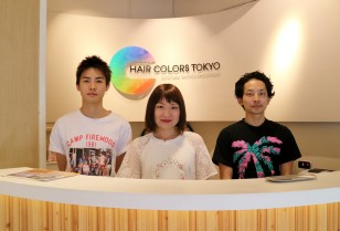 【HAIR COLORS TOKYO】 Japanese technic and product