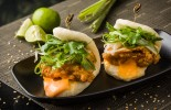 Bao Sliders - Spicy Chicken