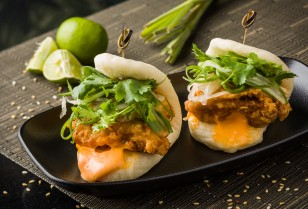 Bao Sliders - Spicy Chicken