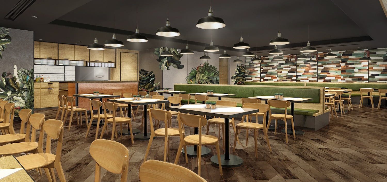 Mango Tree Cafe Interior