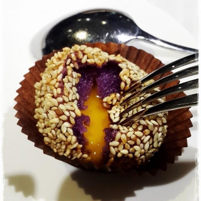壹玖捌叁-紫薯金沙球