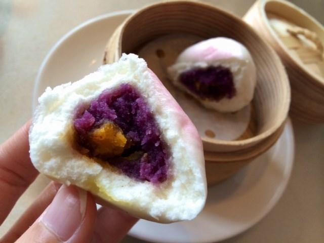 健康紫薯壽桃仔