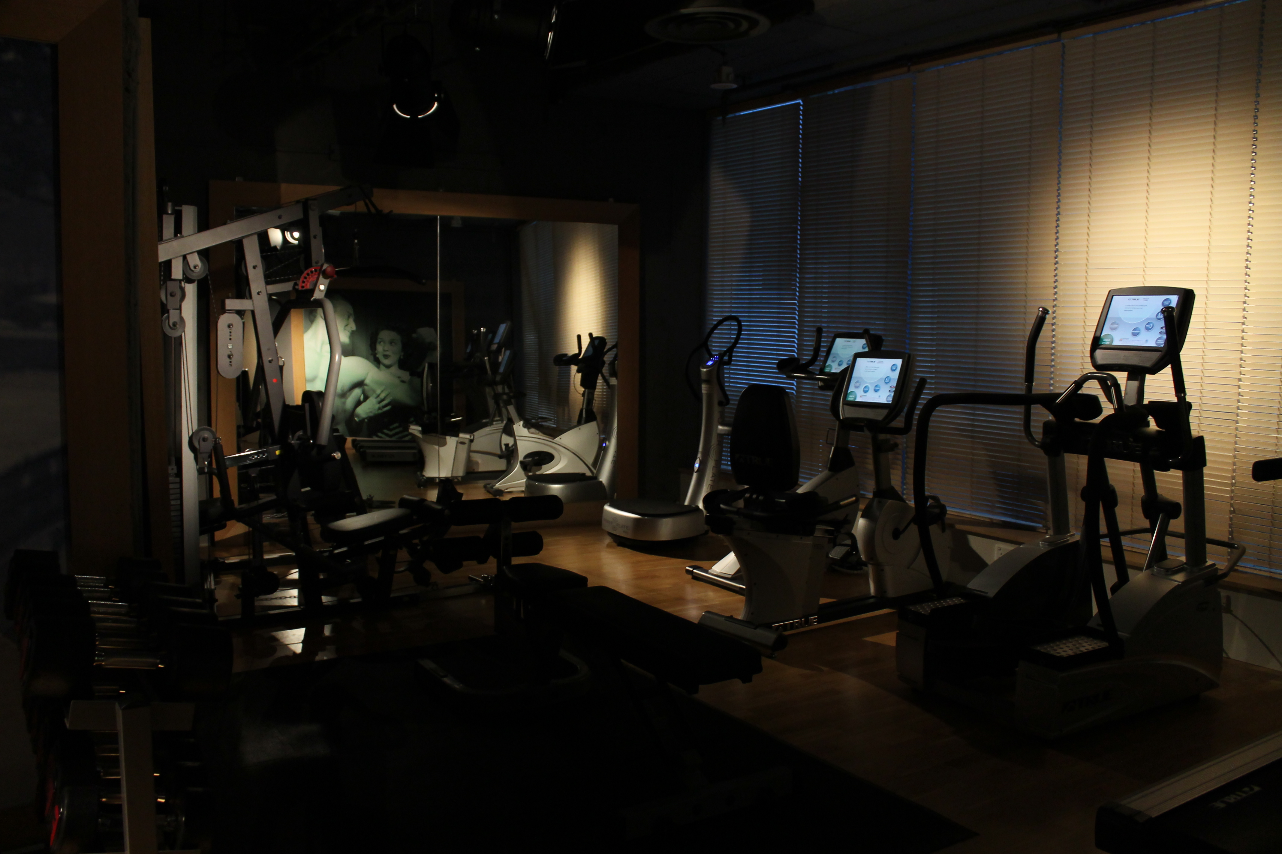 10 – Gym room at Madera Residencies