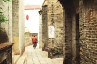 古い建物 番禺沙湾古镇