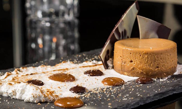 Gaucho – Salted Dulce de Lech and Hazelnut Cheesecake