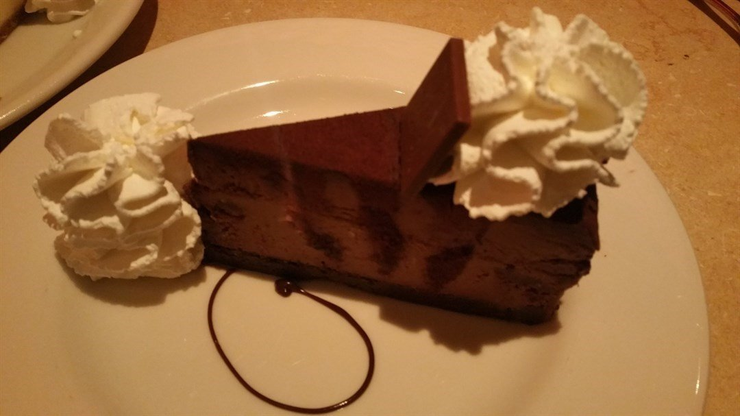 GODIVA CHEESE CAKE - The Cheesecake Factory