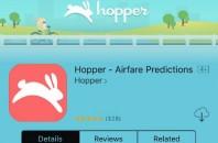 携帯アプリ「Hopper」