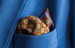 装いの秋本番!ポケットチーフの選び方
