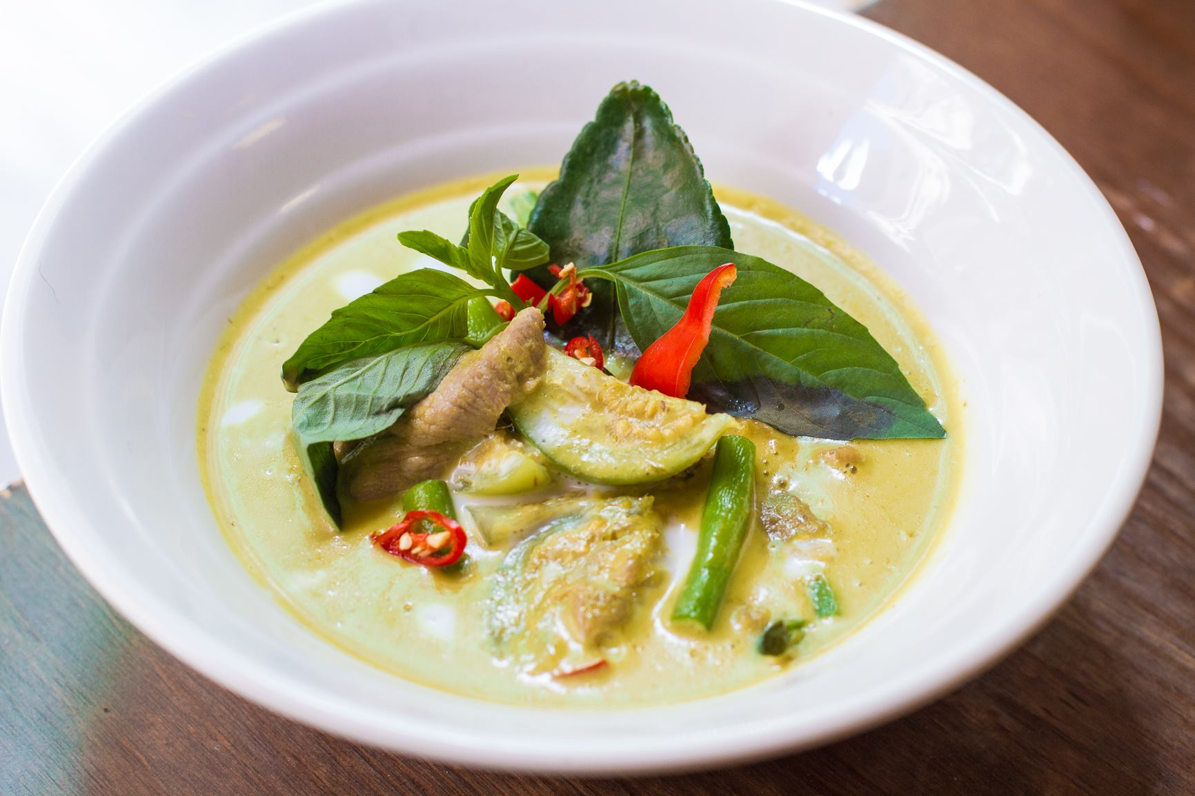 Gaeng Kiew Wan (Thai green curry)
