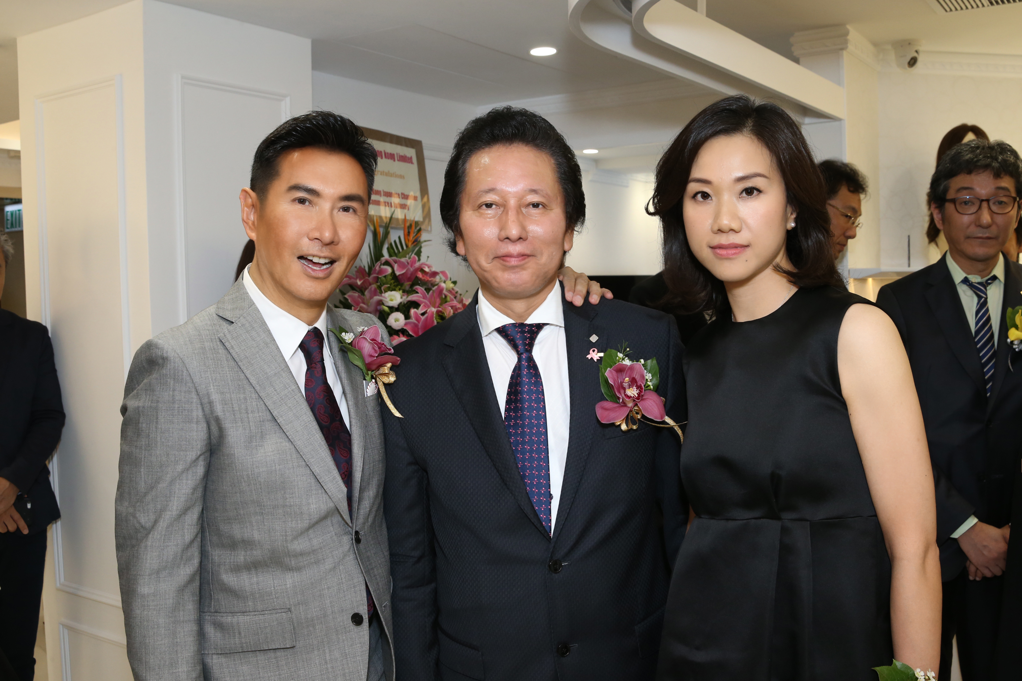 Mr. William Louey Lai-kuen, Mr. Yoshihiro Tsumura, Ms. Polly Chan