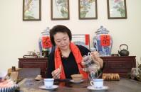紫桃缘 草花荟 による秋の中国茶会〝詩歌品茗会〞