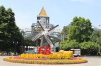 深圳のヨーロッパ風の町オランダ・フラワータウン