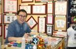 Rainbow Hanamojiの開運風水花文字を試してみよう!