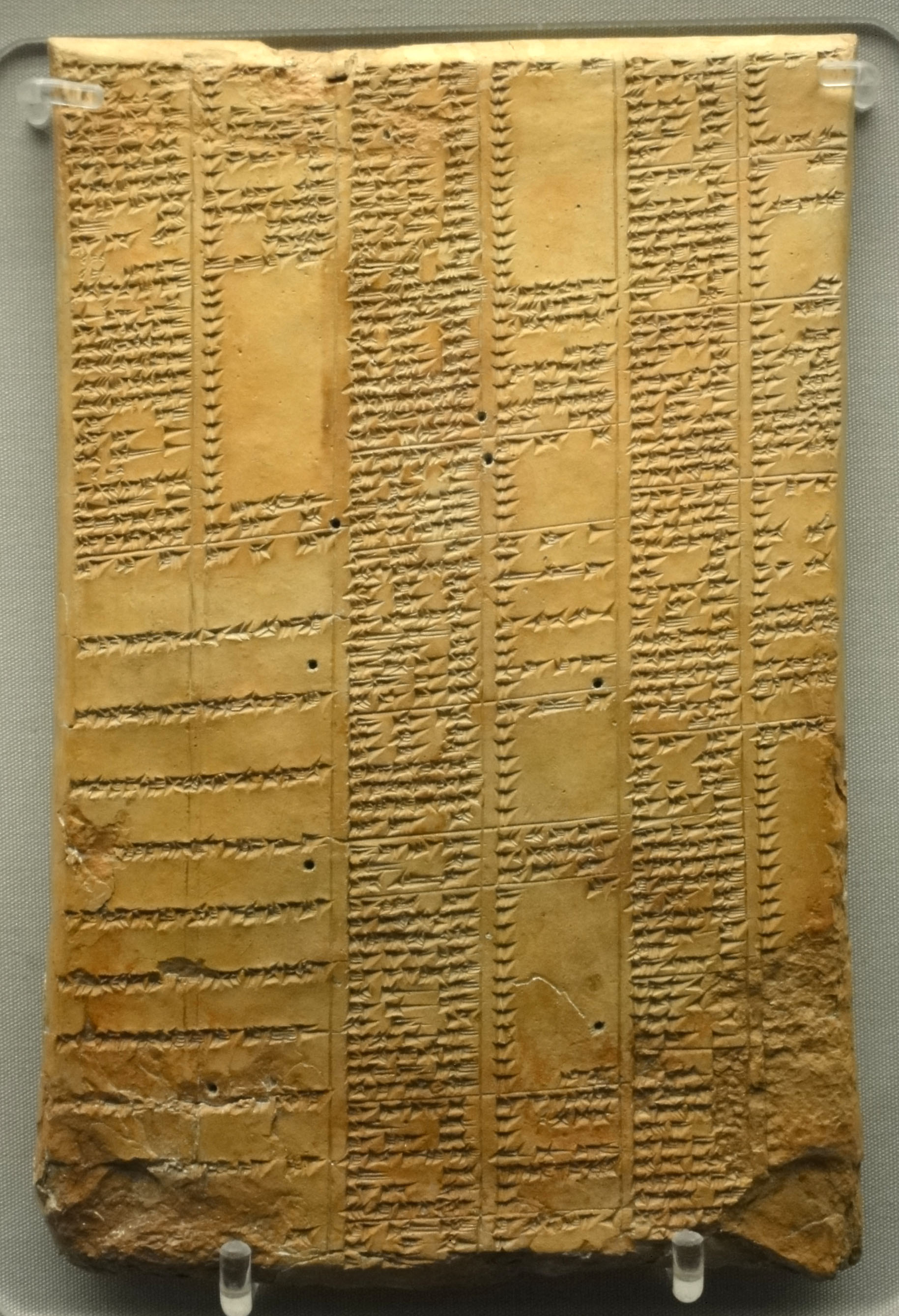 Library_of_Ashurbanipal_synonym_list_tablet