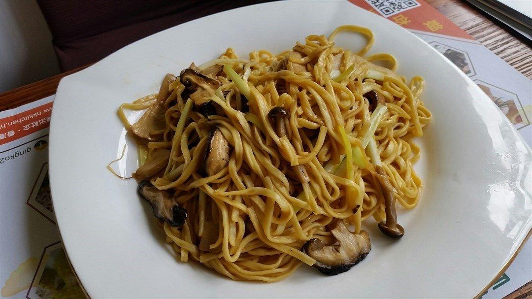 E-fu noodles at O Veggie