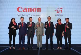 キヤノン香港45周年記念祝賀イベント革新的な映像技術を展示