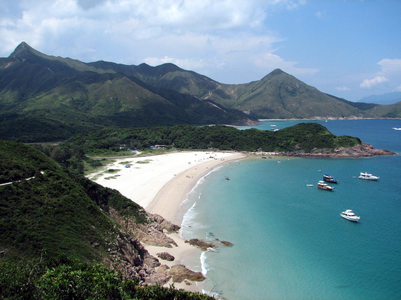 Tai Long Wan大浪湾(Ham Tin Wan,咸田湾)