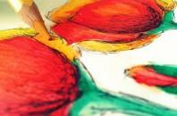 水彩色鉛筆で手軽に水彩画を楽しもう