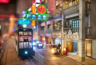オリンピア・シティ2ミニチュア模型展
