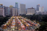 旧正月イベントヴィクトリア公園年宵市場2018