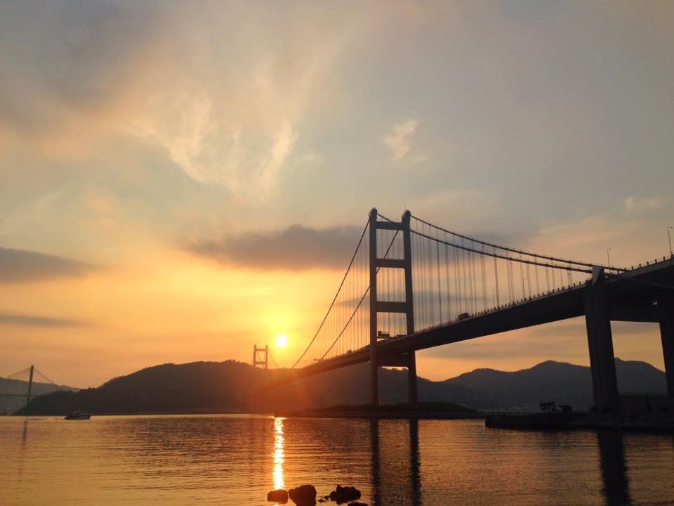 Tsing Ma Bridge Photograph 1