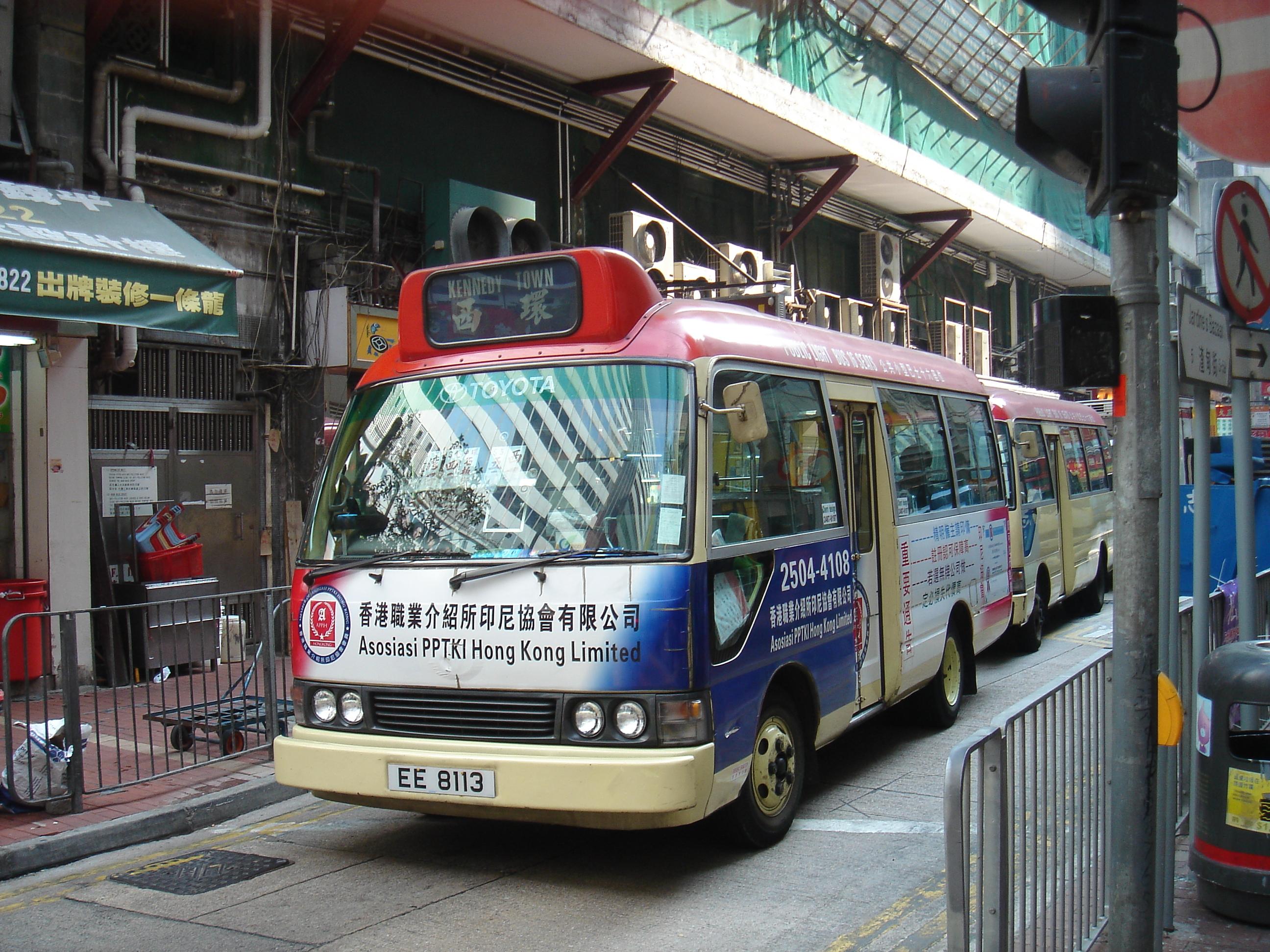 red minibuses