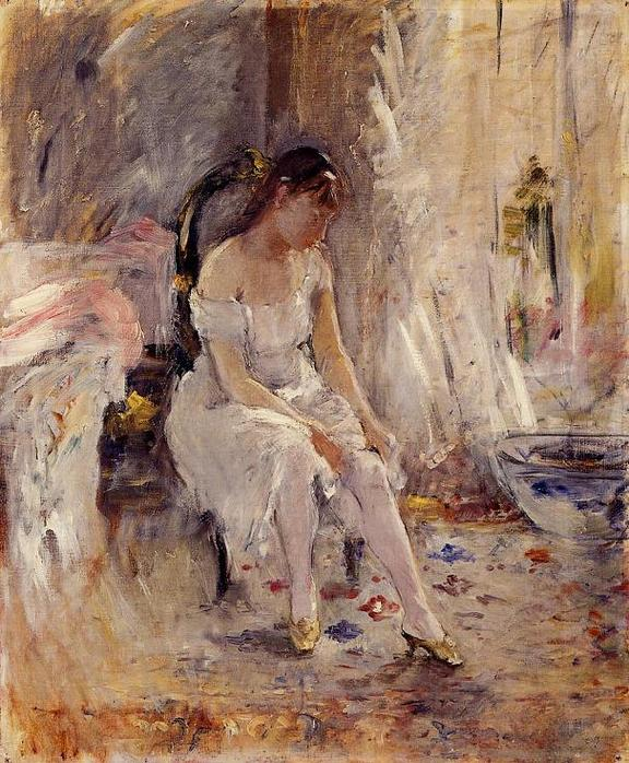 Berthe_Morisot_Young_Girl_Putting_on_Her_Stockings
