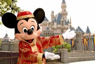 Chinese New Year celebrations香港ディズニーランド