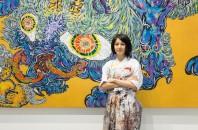 「銅版画家・小松美羽」中環で初の個展