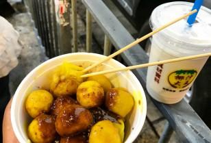 旺角で絶品カレーフィッシュボール「咖喱魚蛋」