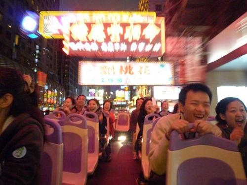 香港オープントップバス2