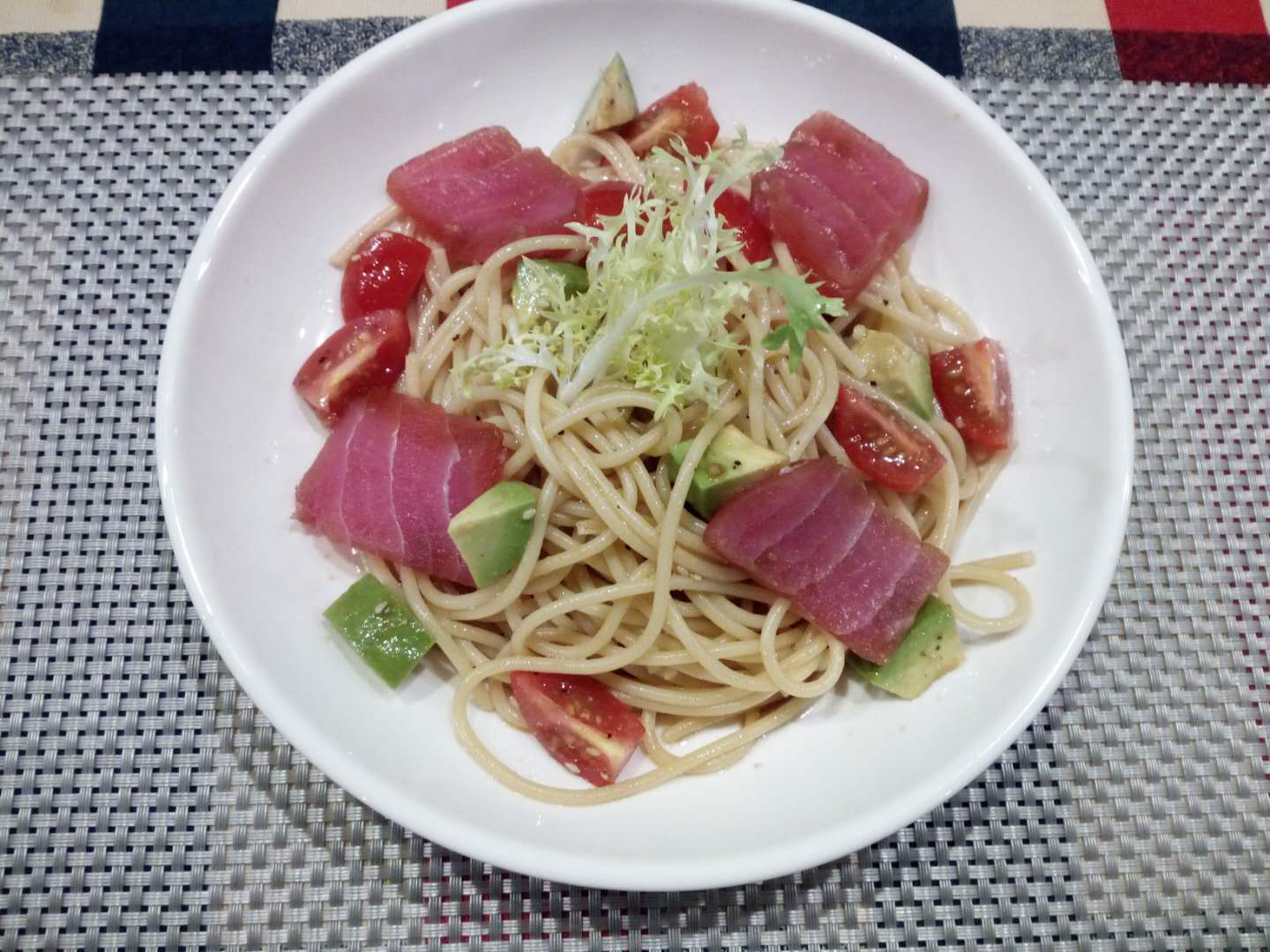 Marinated Tsuna pasta02