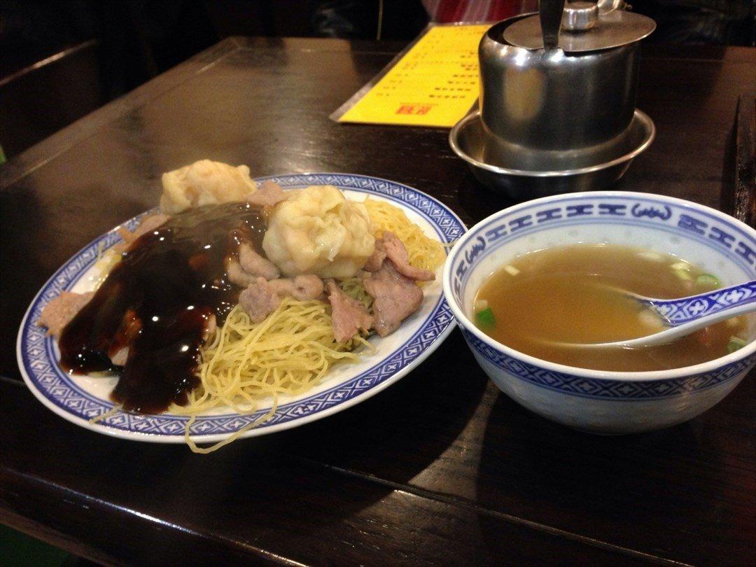 Tsim Chai Kee food